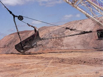 Dragline Boom Protection System